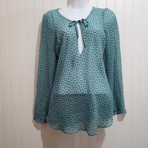 Maurices Sheer Blouse Size S